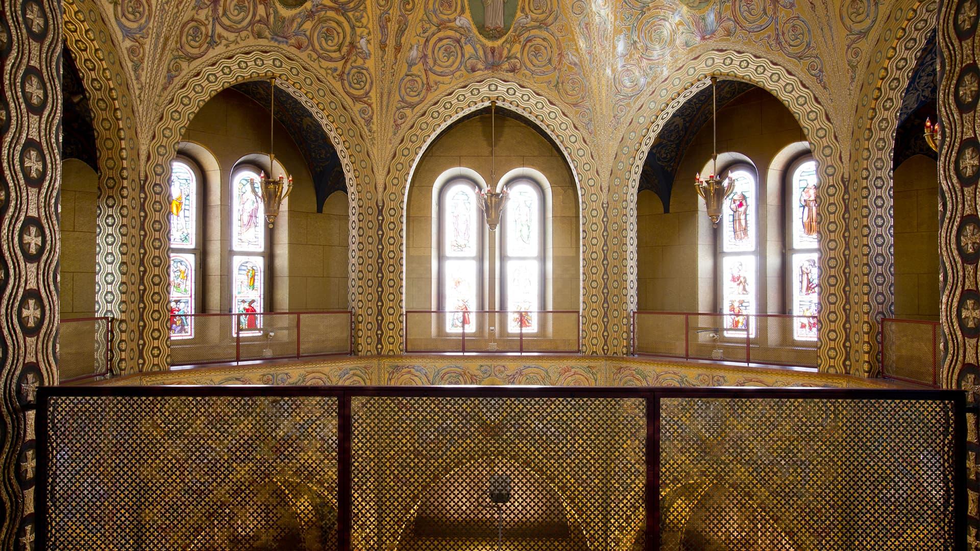 Interior de la Basílica de Santa Rita
